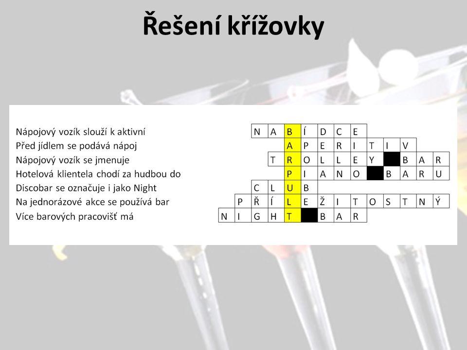 Řešení křížovky