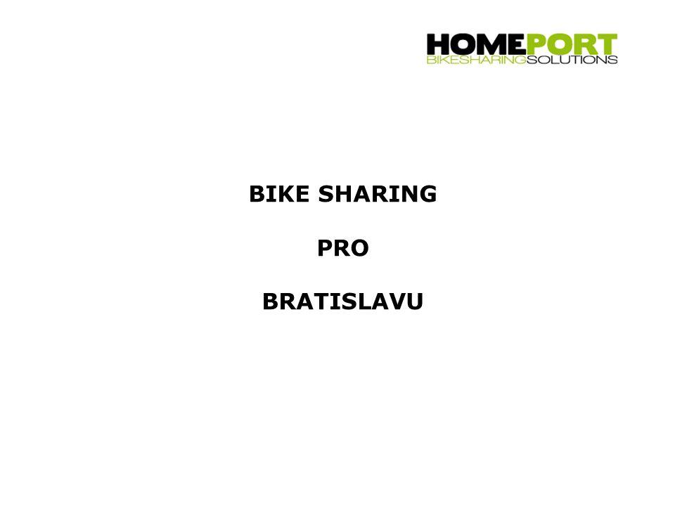 BIKE SHARING PRO BRATISLAVU