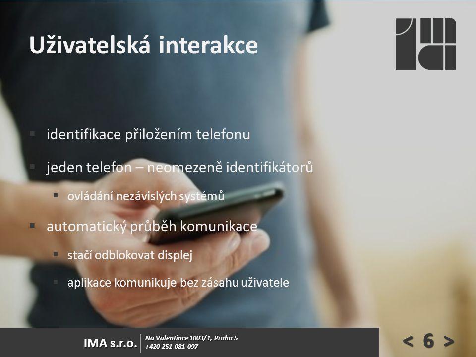 Na Valentince 1003/1, Praha 5 +420 251 081 097 IMA s.r.o.