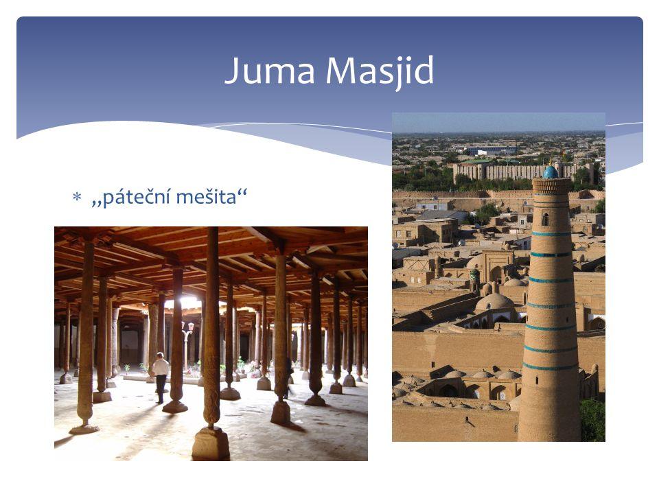 """ """"páteční mešita Juma Masjid"""