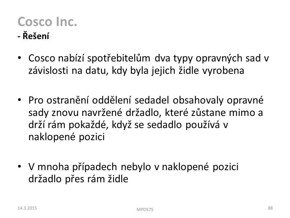 Cosco Inc.