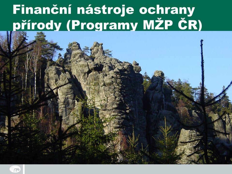 Finanční nástroje ochrany přírody (Programy MŽP ČR)