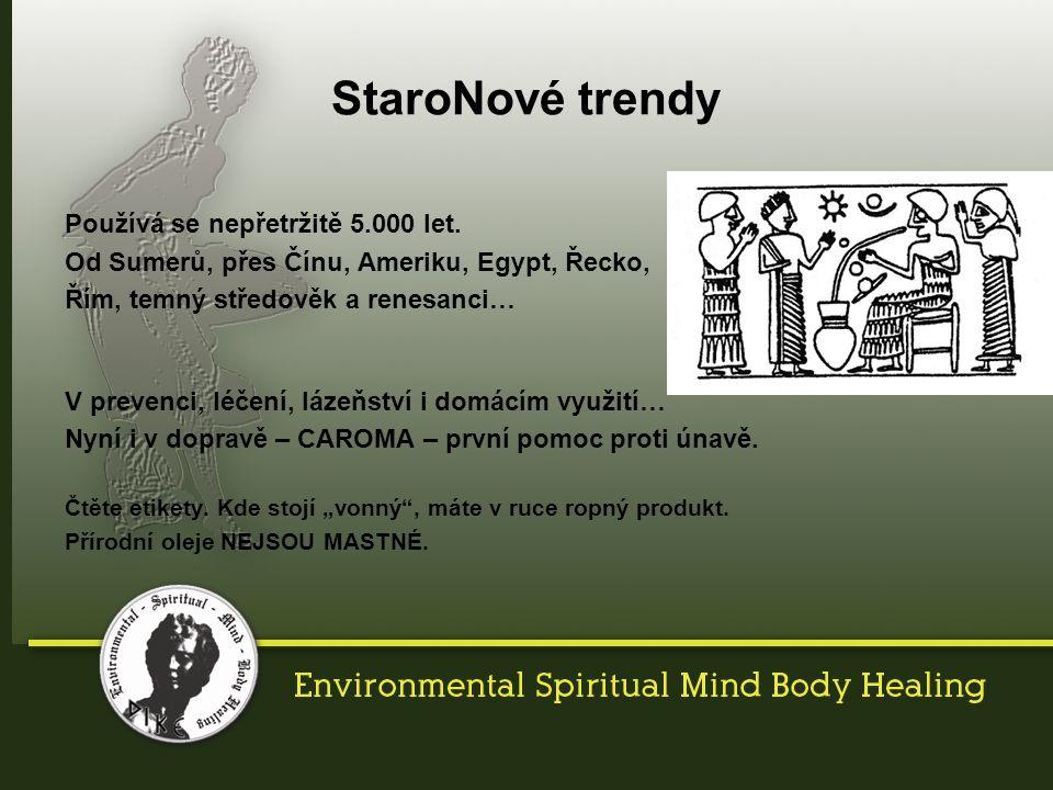 Cílená aromaterapie jako léčebná metoda se používá 5.000 let v mnoha kulturách a v mnoha souvislostech.