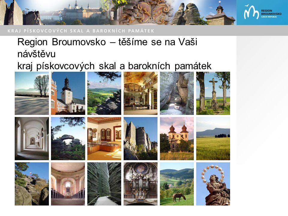 Region Broumovsko – těšíme se na Vaši návštěvu kraj pískovcových skal a barokních památek