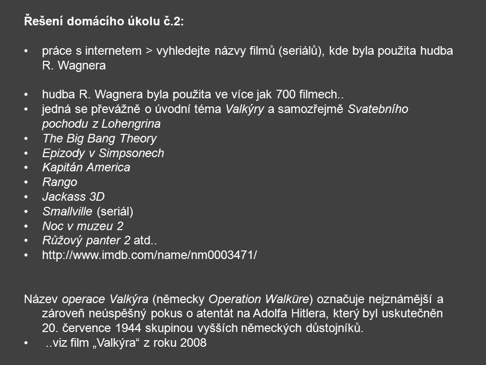 Řešení domácího úkolu č.2: práce s internetem > vyhledejte názvy filmů (seriálů), kde byla použita hudba R.