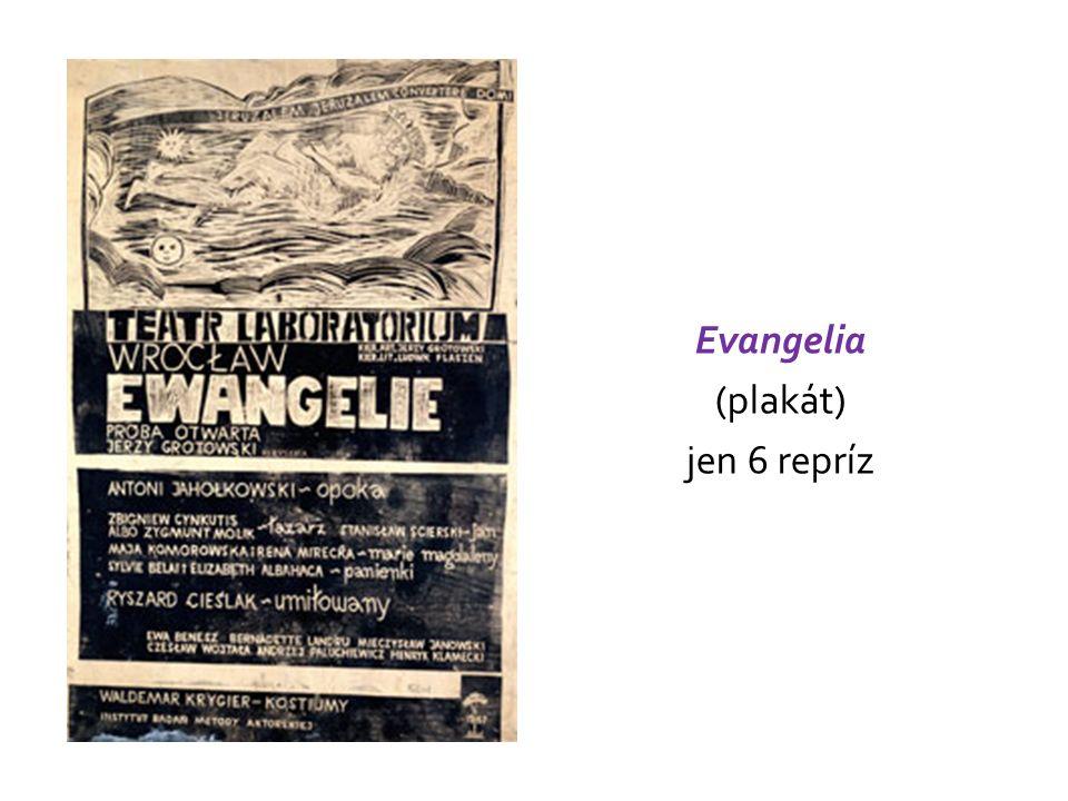 Evangelia (plakát) jen 6 repríz