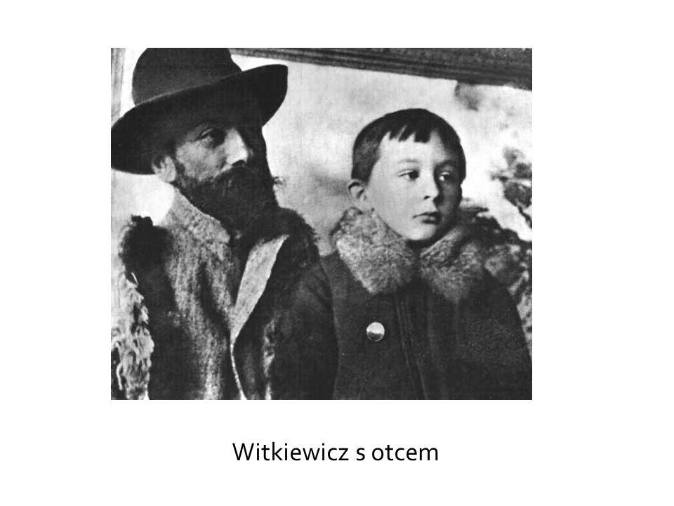 Witkiewicz s otcem