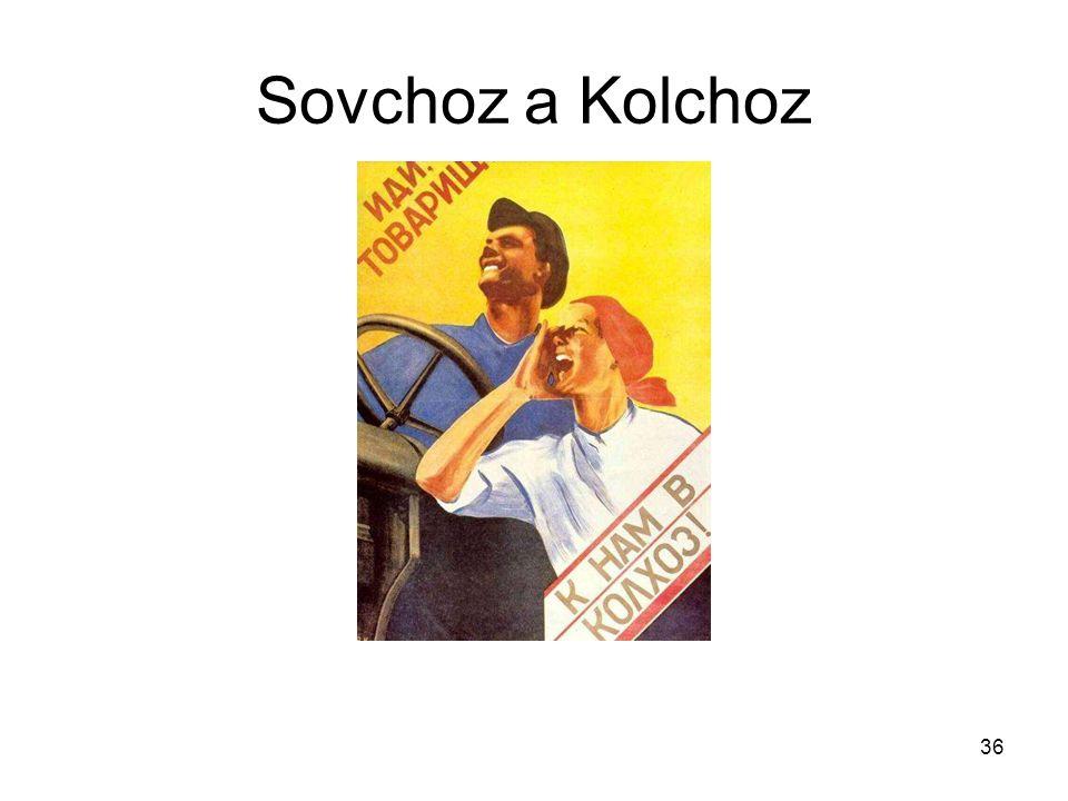 36 Sovchoz a Kolchoz