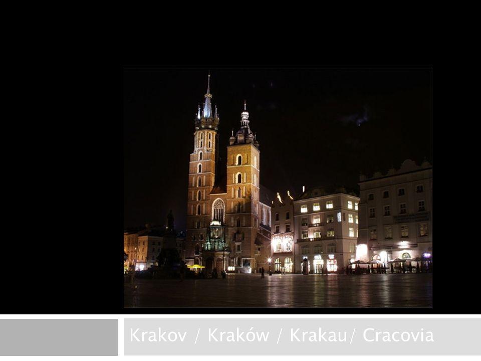 Krakov / Kraków / Krakau/ Cracovia