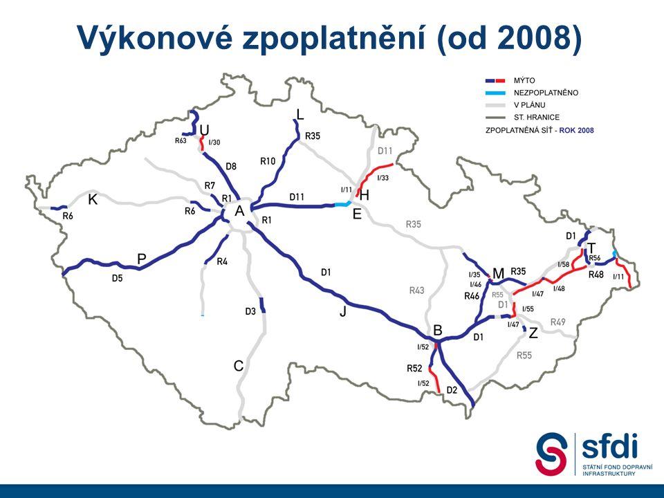 Výkonové zpoplatnění (od 2008)