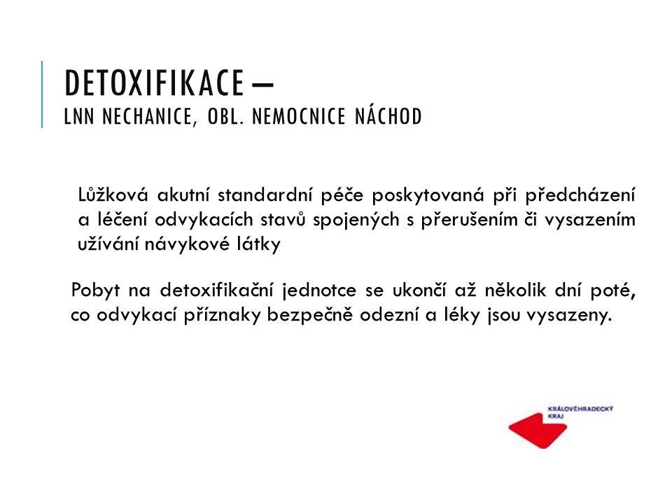 DETOXIFIKACE – LNN NECHANICE, OBL.