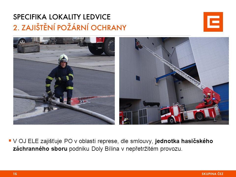SPECIFIKA LOKALITY LEDVICE 2.
