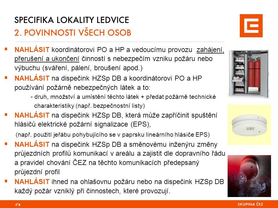 21 SPECIFIKA LOKALITY LEDVICE 2.