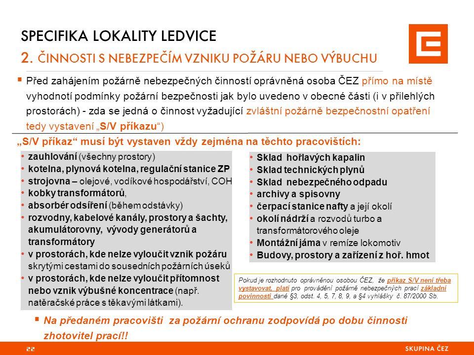 22 SPECIFIKA LOKALITY LEDVICE 2.