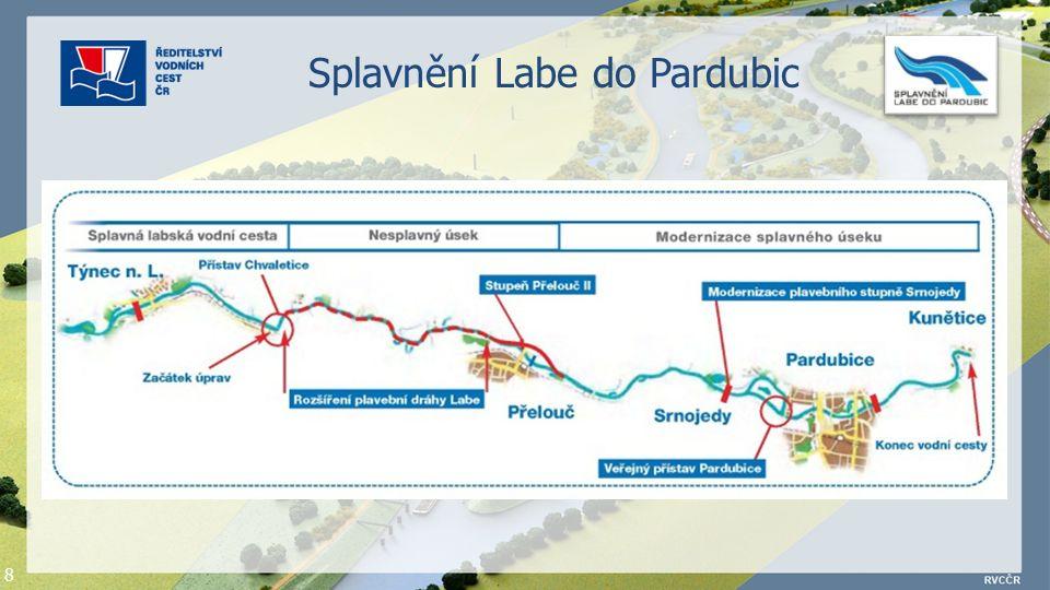 8 Splavnění Labe do Pardubic