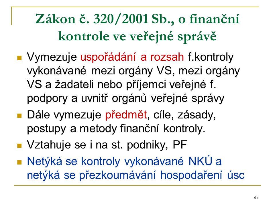 68 Zákon č.