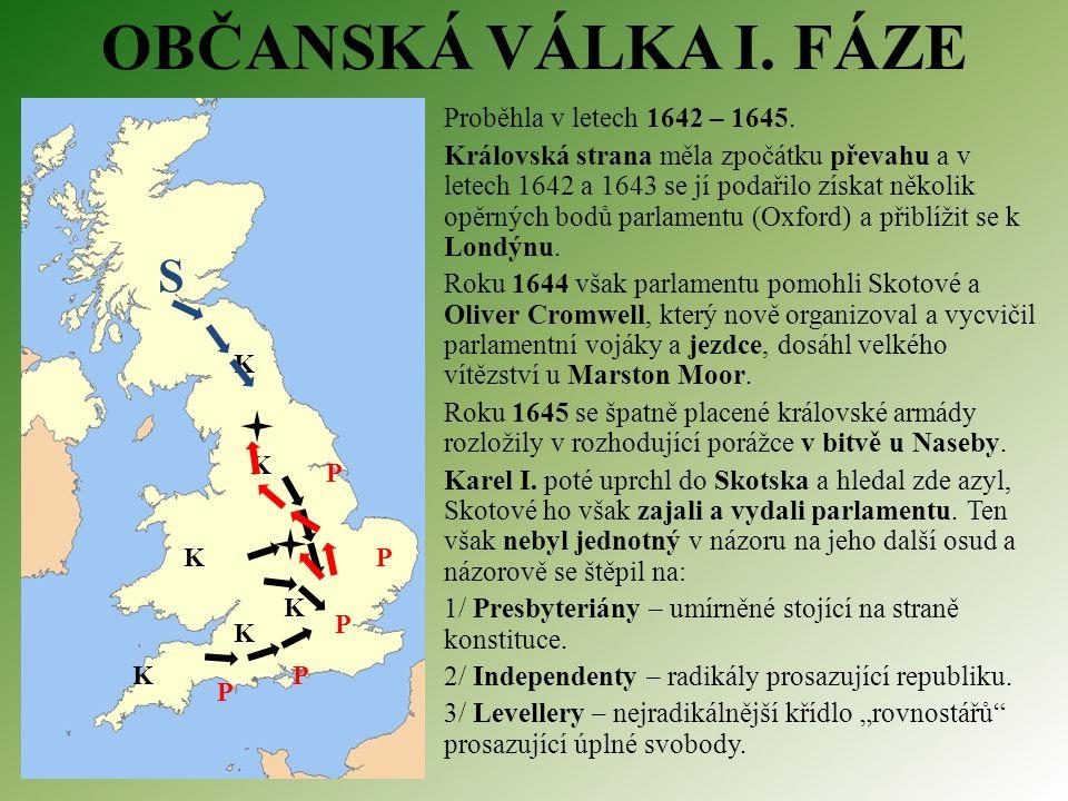 Proběhla v letech 1642 – 1645.