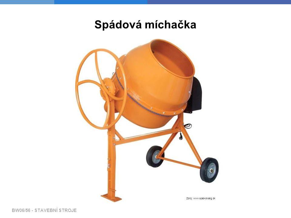 Spádová míchačka Zdroj: www.spad-dvsalg.dk