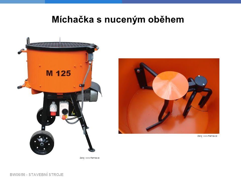Míchačka s nuceným oběhem Zdroj: www.filamos.cz