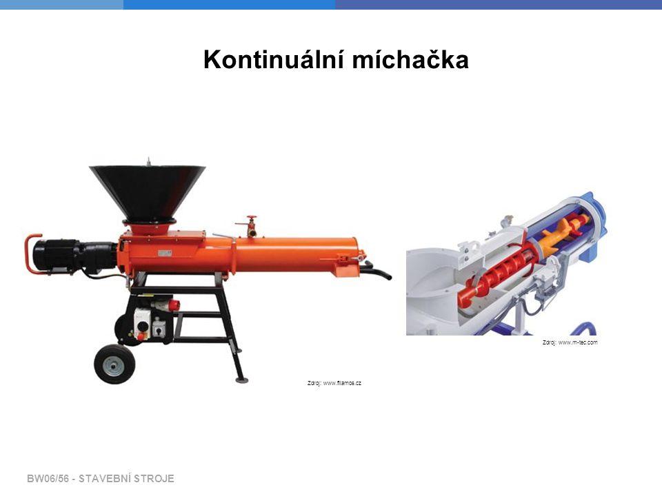 Kontinuální míchačka Zdroj: www.filamos.cz Zdroj: www.m-tec.com
