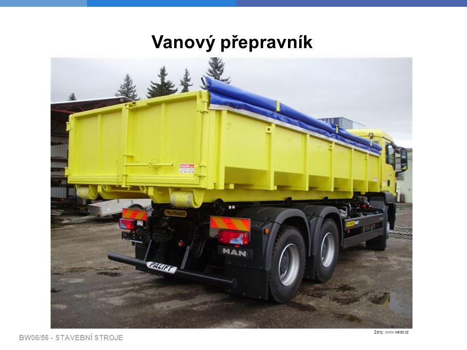 Vanový přepravník Zdroj: www.kaldo.cz
