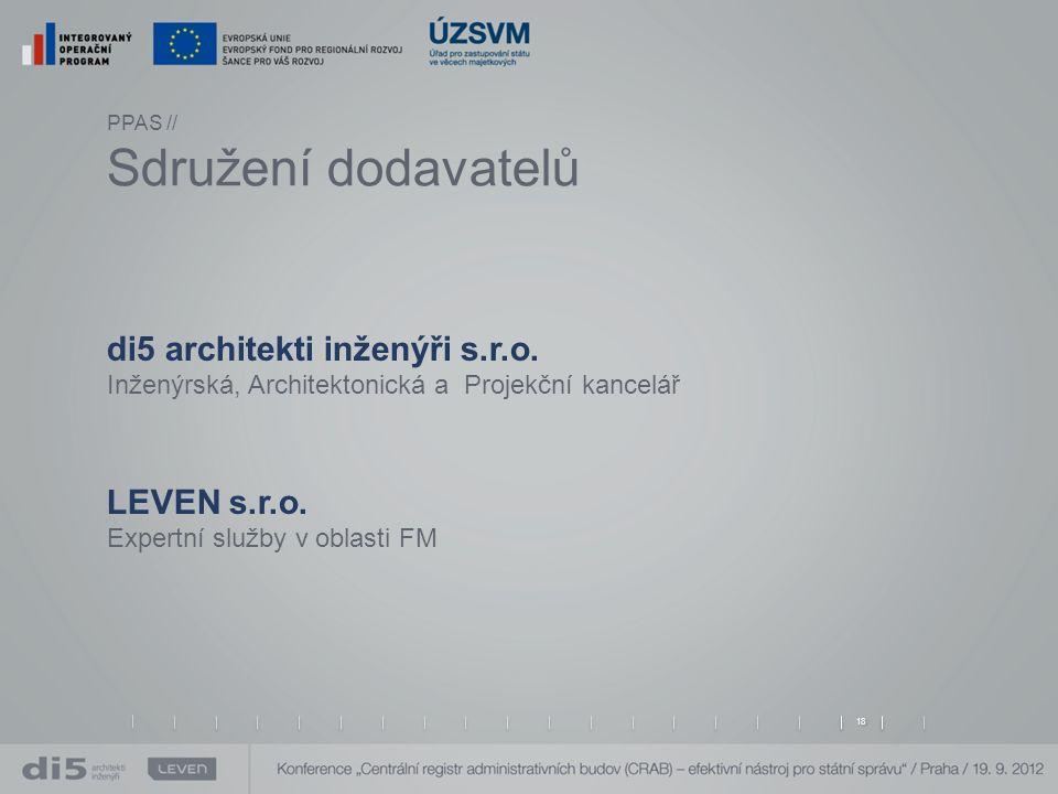 PPAS // Sdružení dodavatelů di5 architekti inženýři s.r.o.