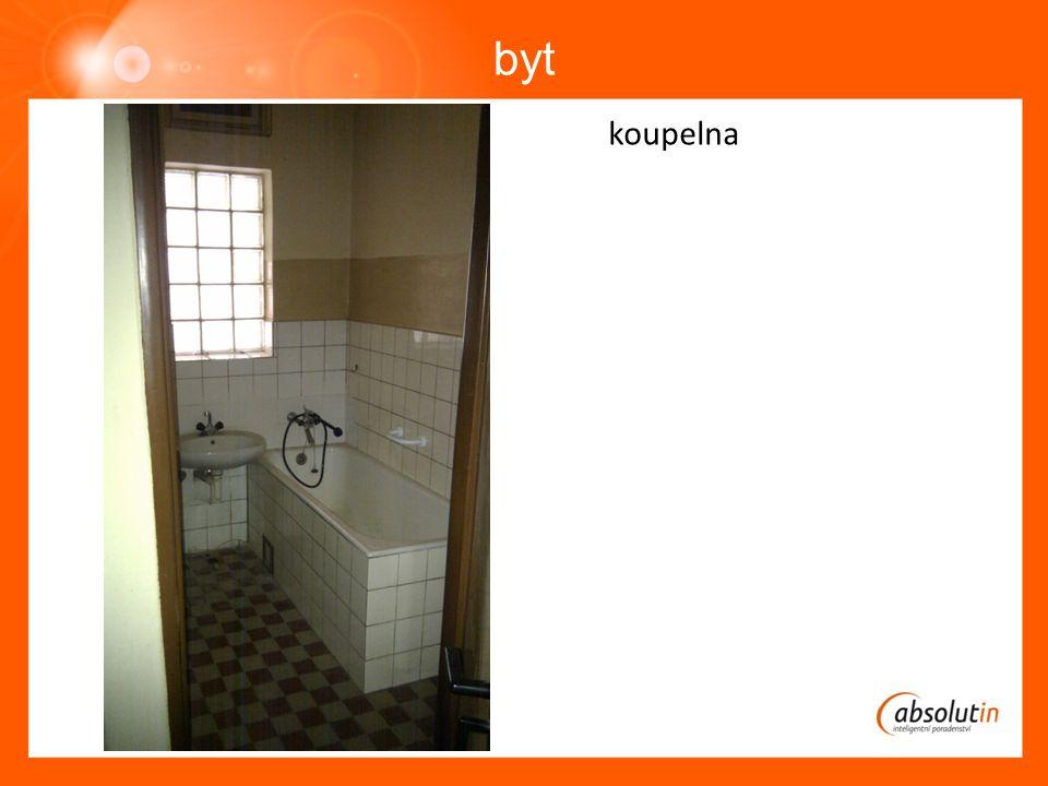 byt koupelna