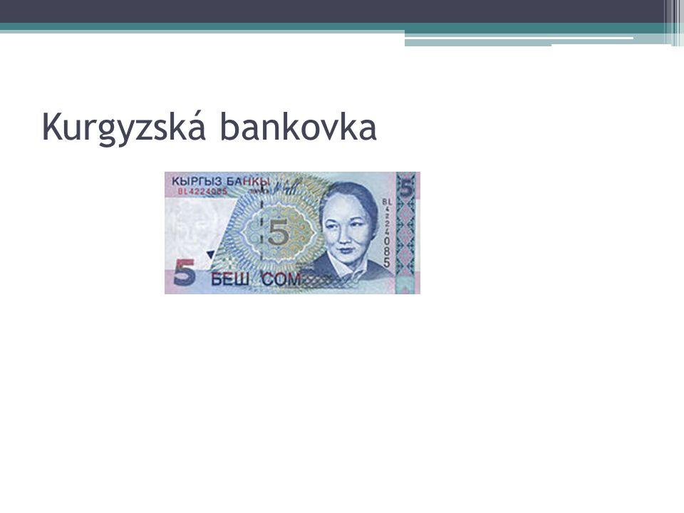 Kurgyzská bankovka
