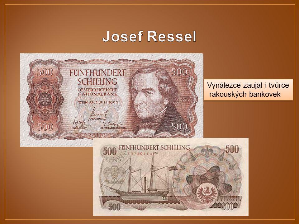 Vynálezce zaujal i tvůrce rakouských bankovek Vynálezce zaujal i tvůrce rakouských bankovek