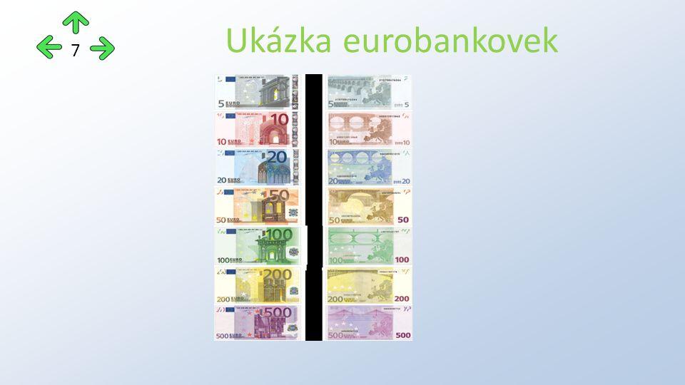 Ukázka eurobankovek 7