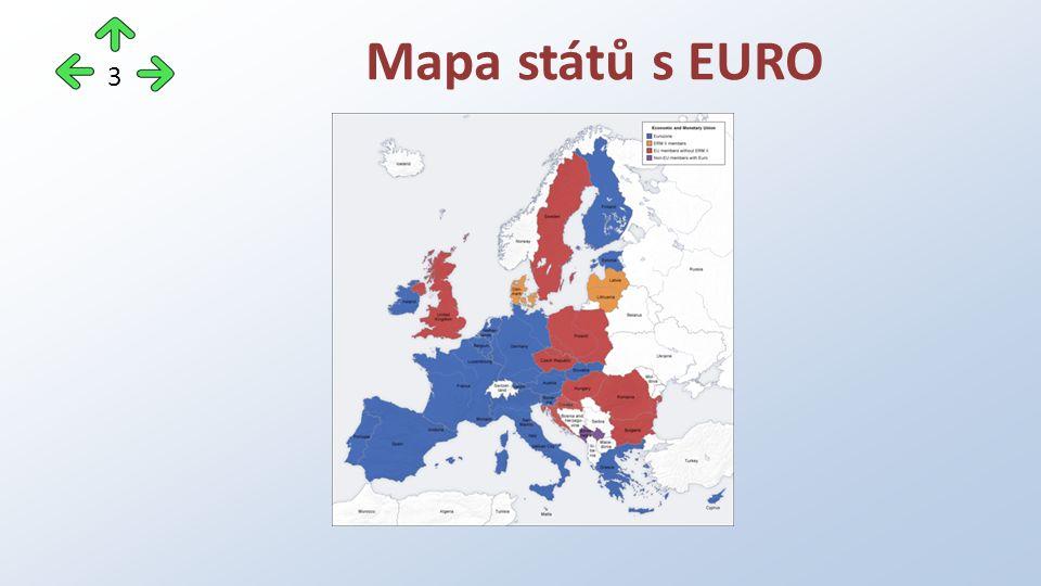 Mapa států s EURO 3