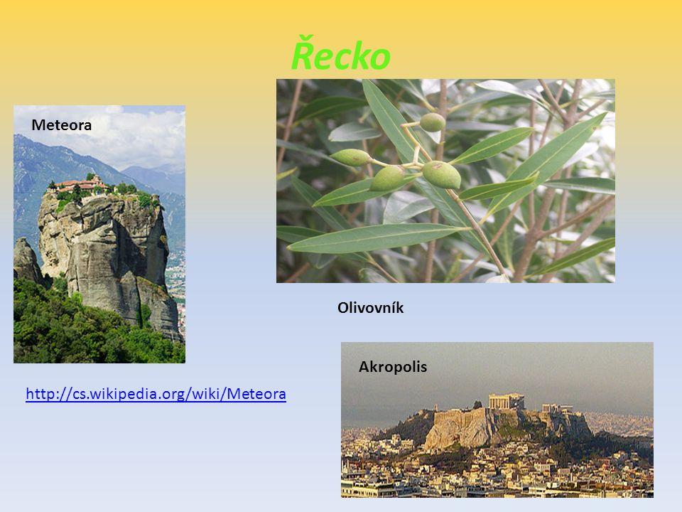 Řecko Meteora Olivovník Akropolis http://cs.wikipedia.org/wiki/Meteora