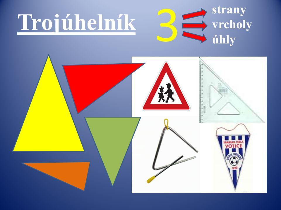 Trojúhelník strany vrcholy úhly 3