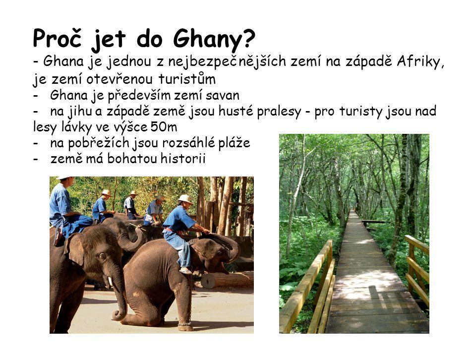 Proč jet do Ghany.