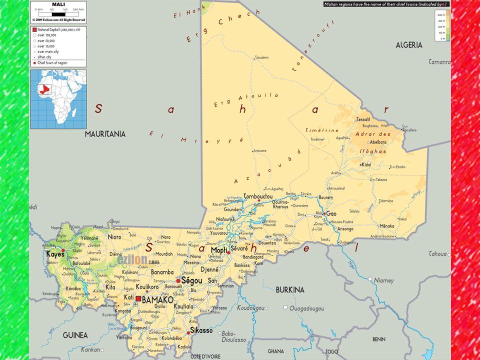 Ekonomika V roce 2008 mělo více než ¾ obyvatelstva méně než dolar na den Pastevectví + rolnictví u Nigeru Proso, rýže, kozy bavlník a shea tree
