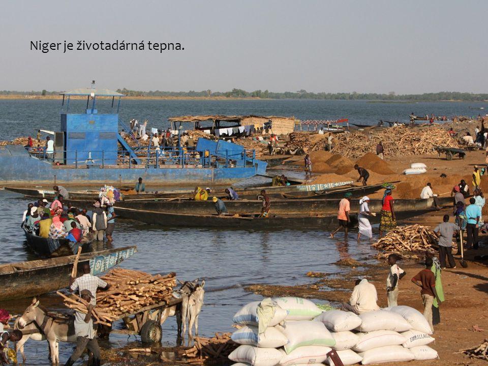 Niger je životadárná tepna.