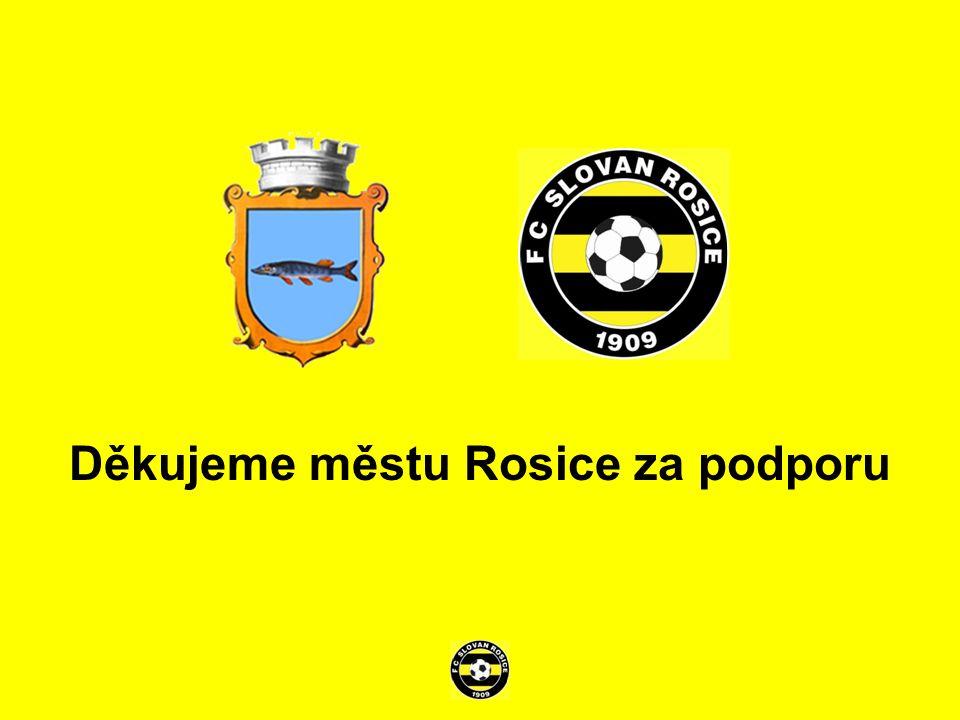 Děkujeme městu Rosice za podporu