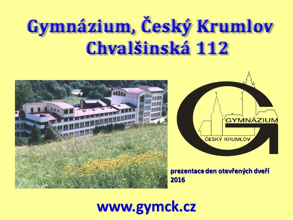 prezentace den otevřených dveří 2016 prezentace den otevřených dveří 2016 www.gymck.cz