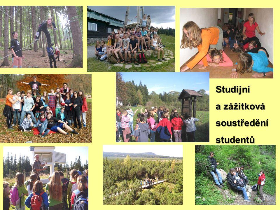 Studijní a zážitková soustředěnístudentů