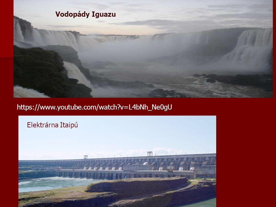 Vodopády Iguazu Elektrárna Itaipú https://www.youtube.com/watch v=L4bNh_Ne0gU