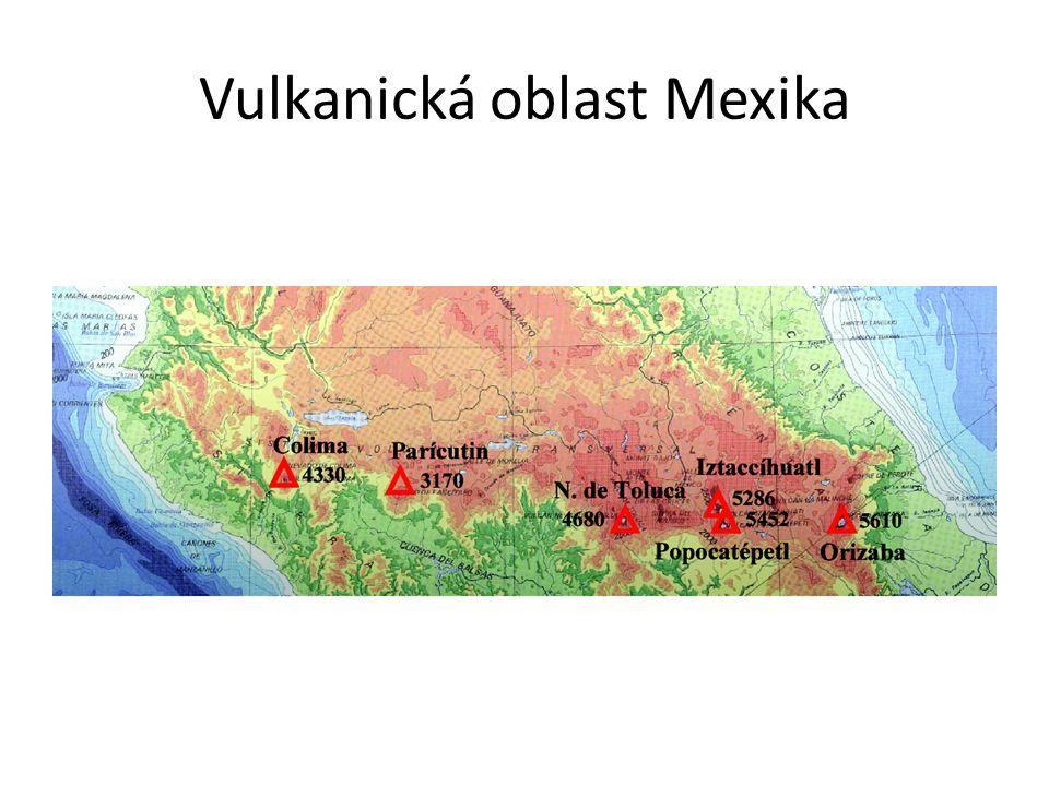 Vulkanická oblast Mexika