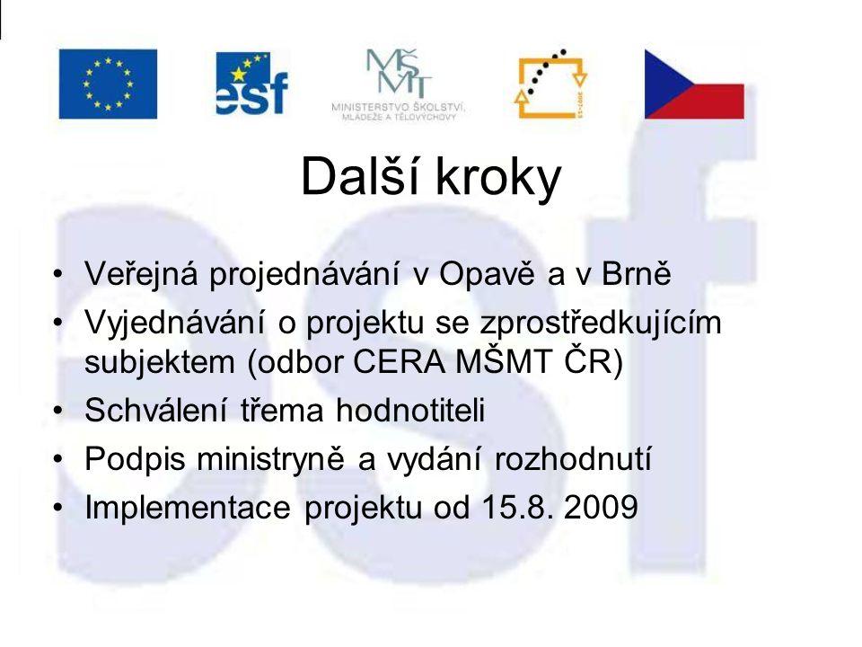 Individuální projekty národní MŠMT V rámci Prioritní osy 4 Systémový rámec celoživotního učení může být IPn realizován pro cílové skupiny všech 14 krajů ČR (tj.
