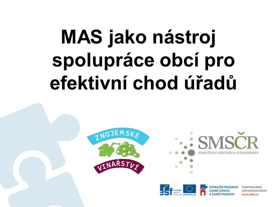 MAS jako nástroj spolupráce obcí pro efektivní chod úřadů
