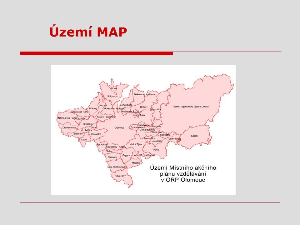 Území MAP