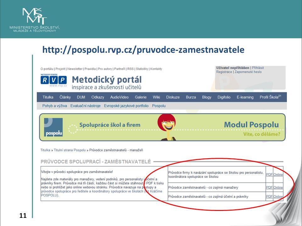 11 http://pospolu.rvp.cz/pruvodce-zamestnavatele