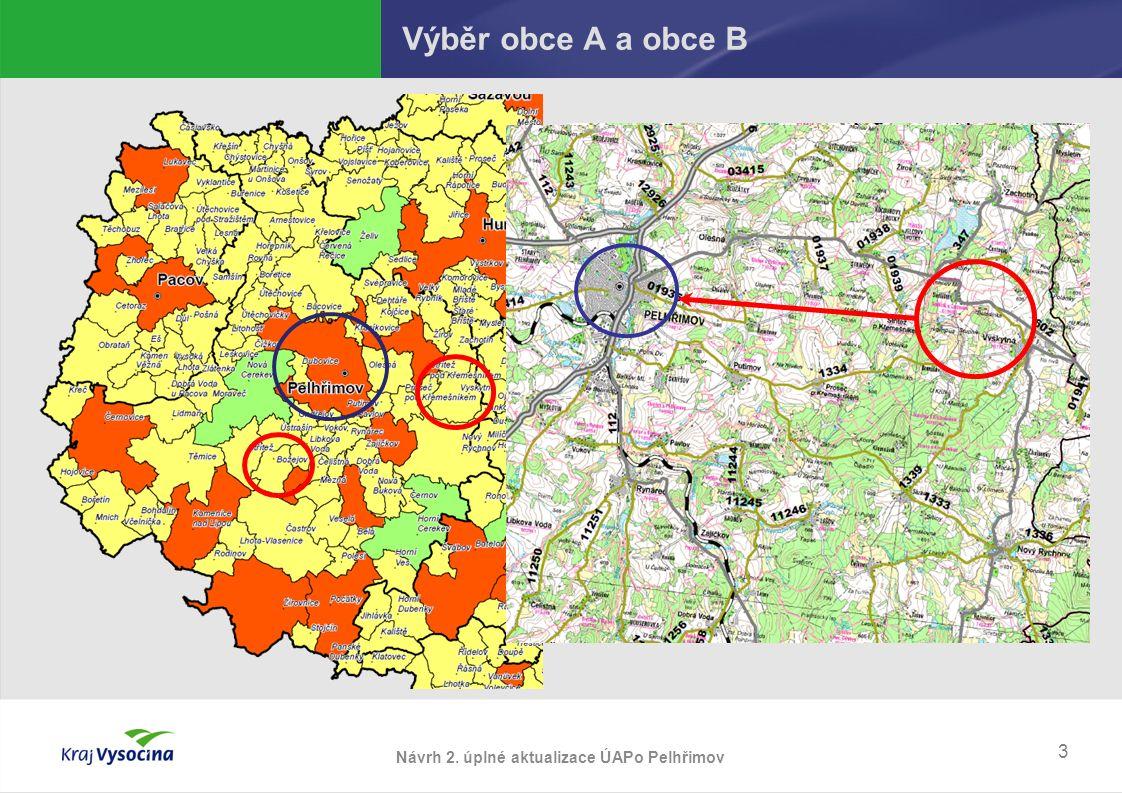 Výběr obce A a obce B 3