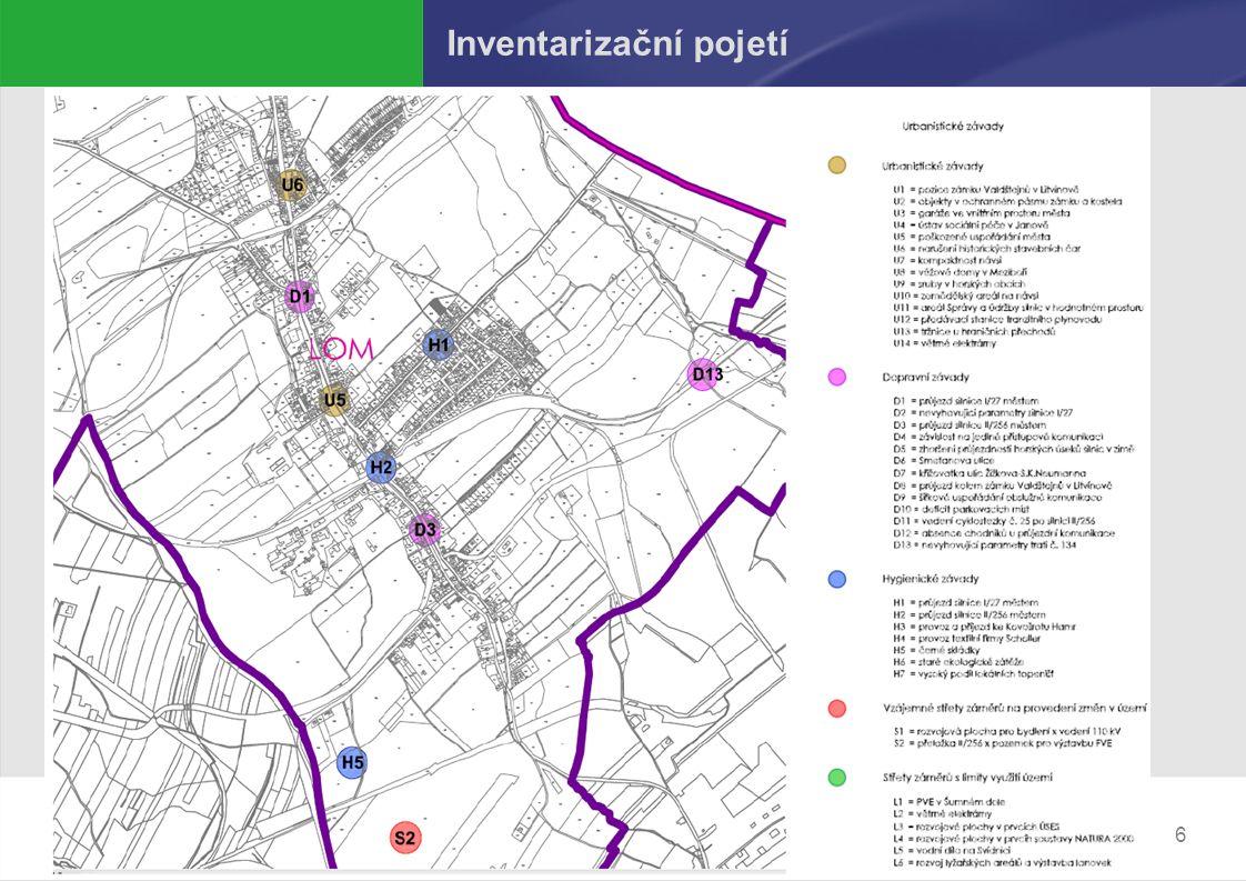 Návrh 2. úplné aktualizace ÚAPo Pelhřimov Inventarizační pojetí 6