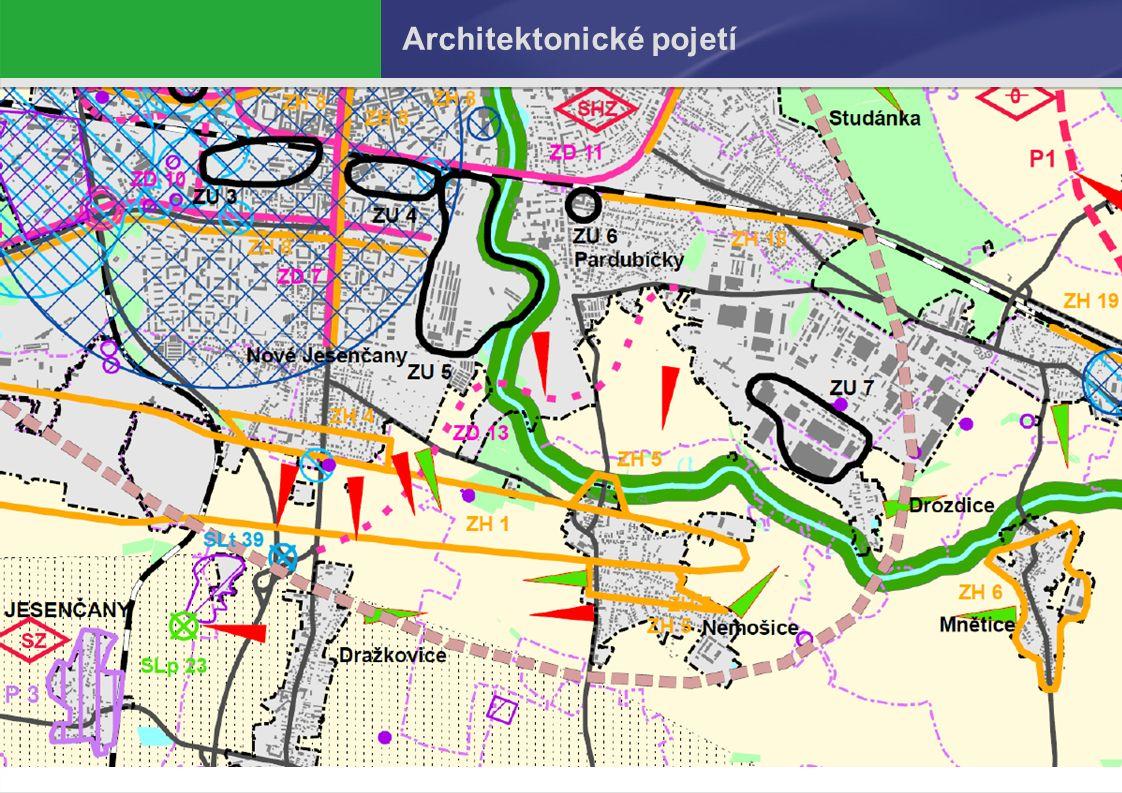 Návrh 2. úplné aktualizace ÚAPo Pelhřimov Architektonické pojetí 7