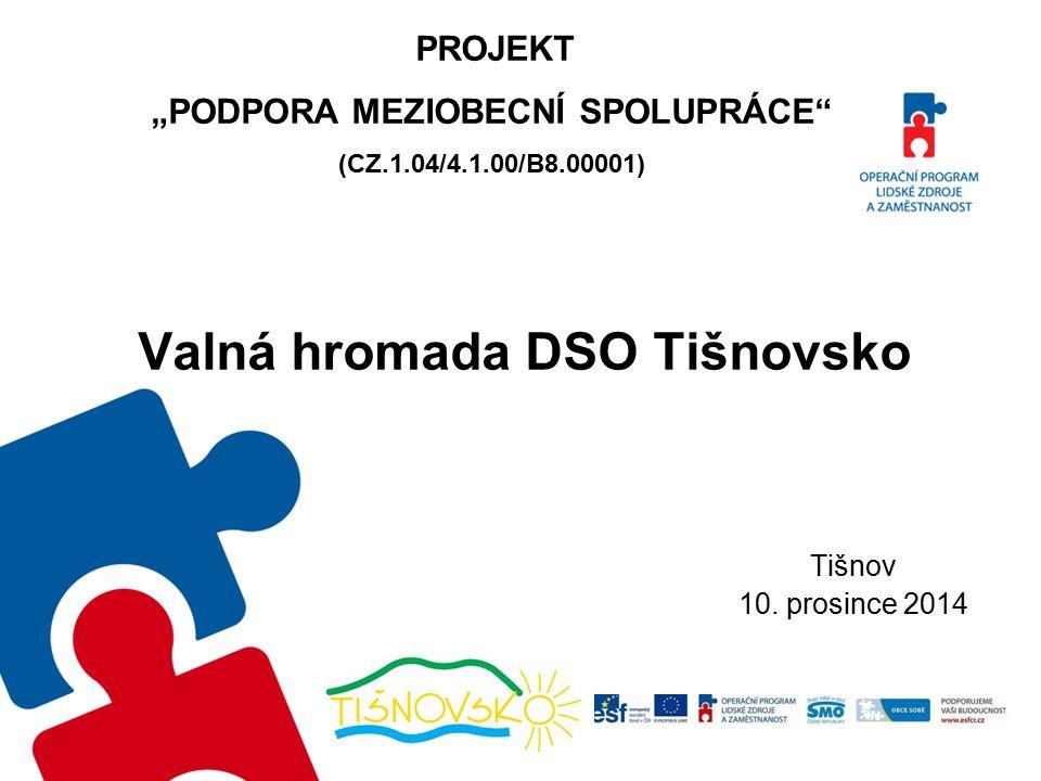 Valná hromada DSO Tišnovsko Tišnov 10.