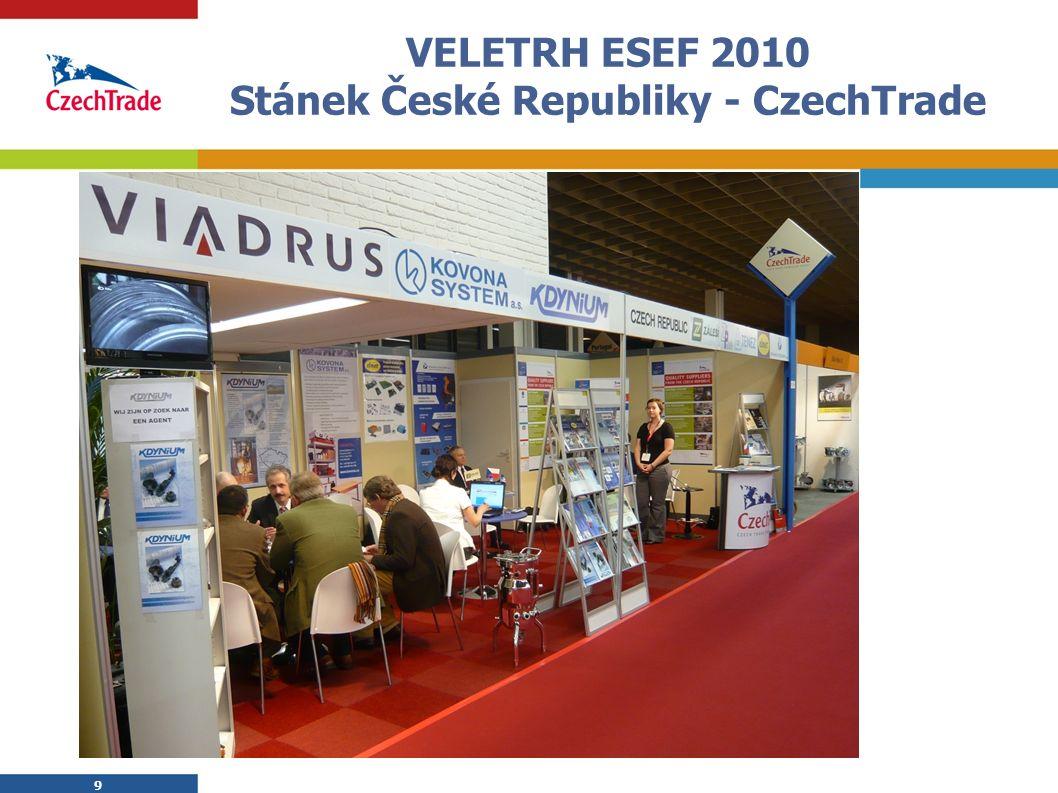 9 VELETRH ESEF 2010 Stánek České Republiky - CzechTrade 9